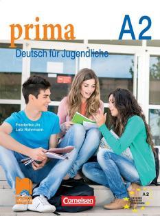 Prima А2 - учебник по немски език за 8. интензивен клас