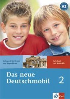Das neue Deutschmobil 2: учебник по немски език за 6.клас - Lehrbuch + Audio CD