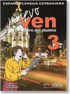 Nuevo Ven 3 - учебник + аудио CD