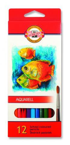 Акварелни цветни моливи 12