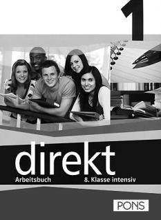 Учебна тетрадка по немски език за 8. клас: Direkt 1 - Arbeitsheft 1