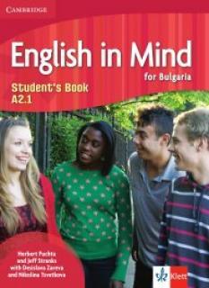 English in Mind for Bulgaria - учебник по английски език за 8. клас - ниво А2.1