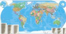 Politicheska Karta Na Sveta 1 20 000 000 Global