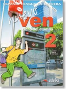 Nuevo Ven 2 - учебник с диск