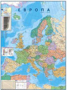Evropa Politicheska Karta Global