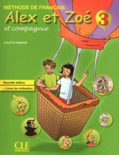 Alex et Zoe 3 - учебник по френски език за 4. клас