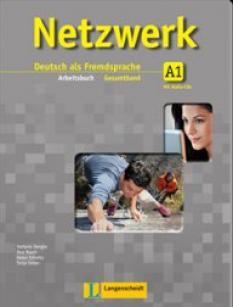 Netzwerk A1 - учебна система по немски език - Arbeitsbuch + 2 Audio-CDs