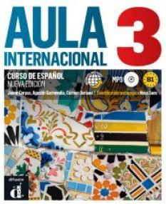 Aula internacional 3: учебник по испански език ниво В1+ CD (ново издание)