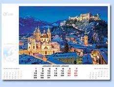 Стенен календар 2018: Градове