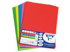 Цветна хартия А4 пакет 5 х 20 листа - ярки цветове