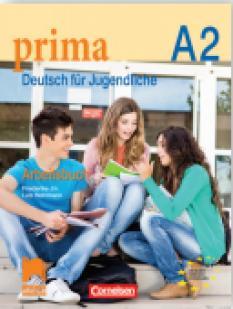 Prima А2, тетрадка по немски език за 8. клас