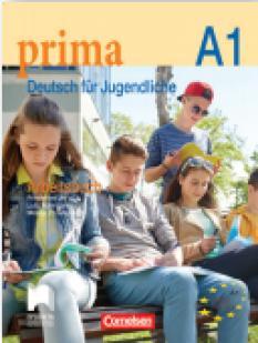 Prima 1, тетрадка по немски език за 8. клас - А1