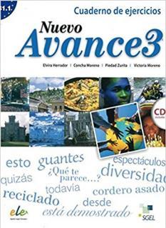 Nuevo Avance 3 - учебна тетрадка по испански език, ниво B 1.1 - аудио CD