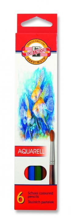 Акварелни цветни моливи 6
