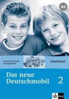 Das neue Deutschmobil 2: учебна тетрадка по немски език за 6.клас - Arbeitsbuch 2