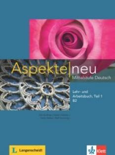 Aspekte neu B2 - учебник и тетрадка по немски език + Audio-CD (част 1)