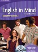Учебник по английски език: English in Mind 3 (2nd Edition) Student`s Book with DVD-ROM