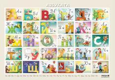 Табло по български език за 1. клас – азбуката