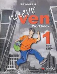 Nuevo Ven 1 - работна тетрадка (с диск)