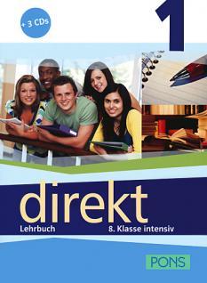 Учебник по немски език за 8. клас: Direkt 1 - Lehrbuch 1 + 3 Audio-CDs