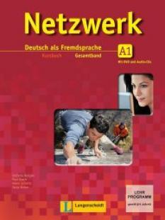Netzwerk A1 - учебна система по немски език - Kursbuch + 2 Audio-CDs
