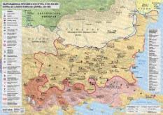 Стенна карта: Възрожденска просвета и култура, XVIII-XIX век. Борба за самостоятелна църква, XIX век