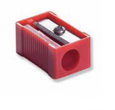 Острилка, пластмасова, прозрачна Ф 8мм, 1 бр.
