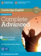 Complete Advanced - Student`s Book + CD-ROM (Second Edition) with ans.
