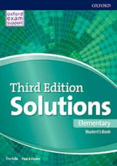 Solutions A1 тетрадка по английски език за 8. клас - Bulgaria edition