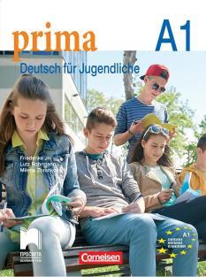 Prima А1 - учебник по немски език за 8. интензивен клас