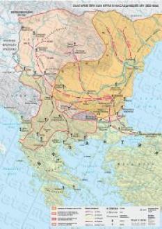 Стенна карта: България при хан Крум и наследниците му (803-852)
