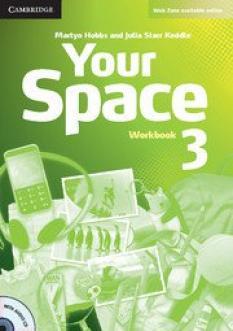 Your Space 3: Учебна тетрадка по английски език за 7. клас - Workbook 3 with Audio CD