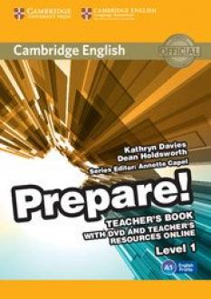 Cambridge English Prepare! - ръководство за учителя - част 1