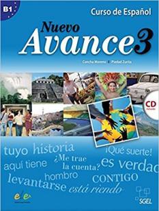 Nuevo Avance 3 - учебник по испански език, ниво B 1.1 - аудио CD