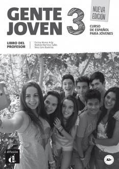 Gente joven 3 - книга за учителя по испански език за 7. клас - ниво A2+