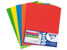Картон цветен А4 пакет 5 х 10 листа - ярки цветове