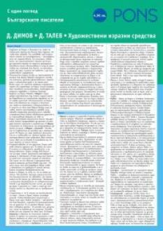 Българските писатели с един поглед - част 6