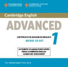 Cambridge Certificate in Advanced English 1: Audio CDs (2) (NEW edition for revised exam 2015)