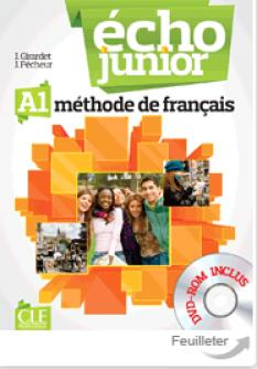 Echo Junior A1: учебник по френски език за 8 клас