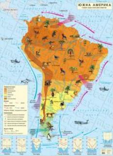 Klimatichna Karta Na Yu Amerika Datamap