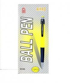 Химикалка Ball Pen - кутия 12 бр. (AIHAO 505)