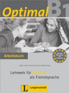 Optimal!: учебна тетрадка по немски език за 10.-11. клас (ниво В1) - Arbeitsbuch + Lerner Audio-CD