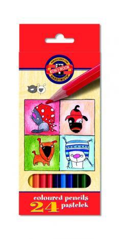 Цветни моливи  24 CATS