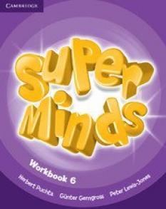 Super Minds ниво 6 - учебна тетрадка по английски език