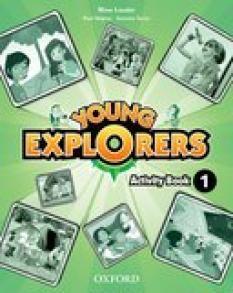 Young Explorers Level 1 Activity Book - учебна тетрадка по английски език