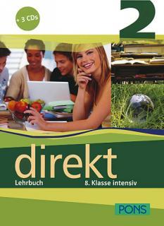 Учебник по немски език за 8. клас: Direkt 2 - Lehrbuch 2 + 3 Audio-CDs