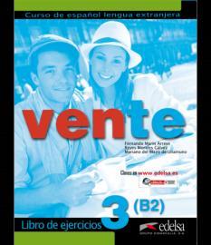 Vente 3: учебна тетрадка по испански език (ниво B2)