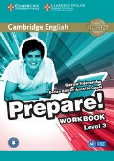 Cambridge English Prepare! - учебна тетрадка по английски език за 5. клас + аудиодиск, част 3