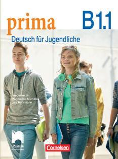 Prima B1.1 - учебник по немски език за 8. интензивен клас