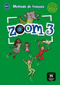 Zoom 3 - Nivel A2.1 - учебник по френски език